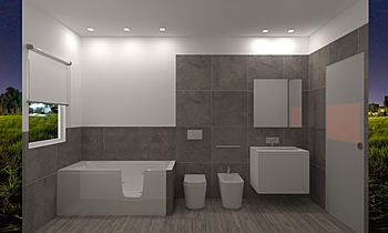 patrizia arcodia Classique Salle de bain Salvatore Incognito