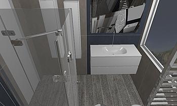 VALENTE-JOIN Contemporary Bathroom Tre P Ceramiche Team Designer Group