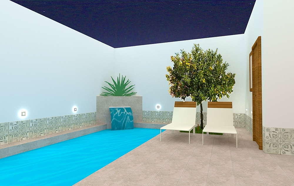 patio la rambla 1 Classic Swimming Pool gonzalo y mariano  soler