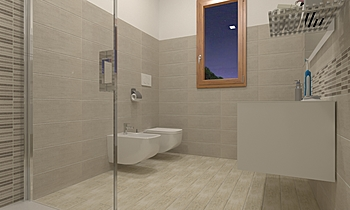 Bagno interiors 3x2 Classic Bathroom COVERINGS .IT