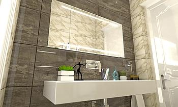 guest bathroom 1 Classic Bathroom Zarrugh Company