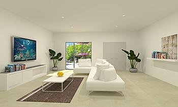 Mr Raja_living room Contemporáneo Sala Feruni Ceramiche Sdn Bhd