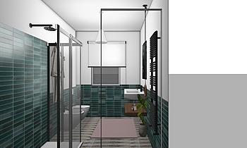 gazzi crogiolo blu Classic Bathroom D M s.r.l.