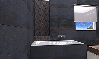 REA VALENTINA METALLI Classic Bathroom Federica Lorini