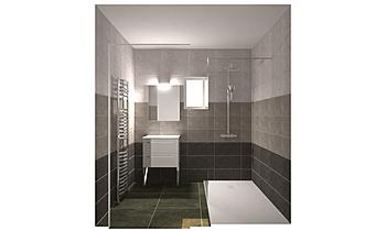 SDB DEGRADE Classic Bathroom Nathalie  Faivre