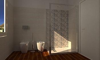 Bagno padronale Mediterranean Bathroom Ivana Leotta