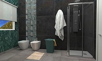 REA VALENTINA STUDIO 50 Classic Bathroom Federica Lorini