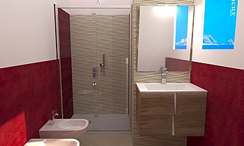 ewall cecala Modern Bathroom salvino imburgia