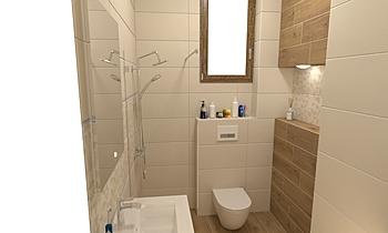 Modern Pearl & Sagano Noc... Classic Bathroom Mladen Popov