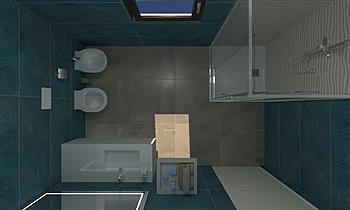 Bagno 2x3 Blaze Classic Bathroom COVERINGS .IT