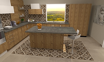 CUCINA Moderno Cucina Steve Fulco