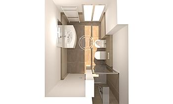 Bagno Servizio Modern Fürdőszoba Alfredo Doria