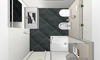 Bagno Glocal Classic Bathroom COVERINGS .IT