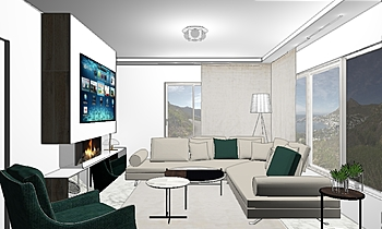 living room project house... Classico Living Hristina Zaharievv