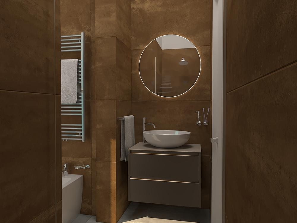 BAGNO B&B Modern Fürdőszoba BIODOMUS  SRL
