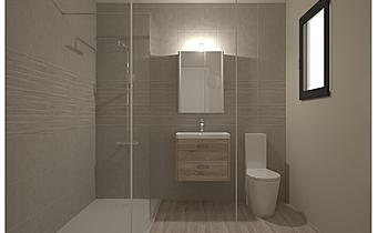 SALLE DE BAIN - BELGRAVIA... Classic Bathroom Nathalie  Faivre