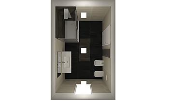 Rizzo Antonio Contemporary Bathroom Nuova Edilizia Gigante srl