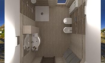herberia modifica ultimat... Contemporary Bathroom ANTONIO MILETTA