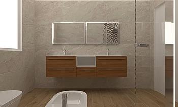Sala bagno primo piano Classic Bathroom Davide Gardenghi