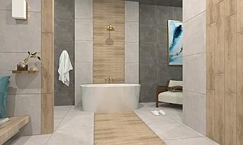 Inside Miele 15x90cm, Art... Modern Bathroom Terrakotta  Csempecentrum
