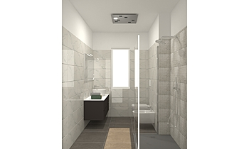 bagno doccia Klasický Koupelna HABIMAT Focardi e cerbai