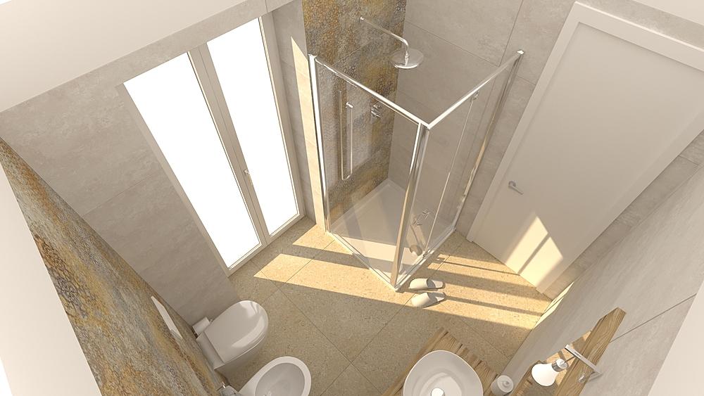 Vieste bagno soluzione 3 Classic Bathroom De Gregoris -  Dove Nasce Casa