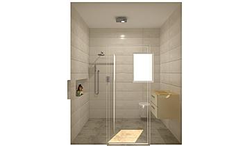 The Hamptons - Apt 112 - ... Classic Bathroom Kirsty Farrugia