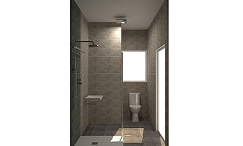 The Hamptons - PH101 - En... Classic Bathroom Kirsty Farrugia