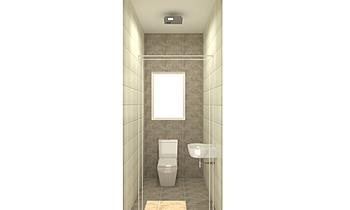 The Hamptons - PH103 - WC... Classic Bathroom Kirsty Farrugia