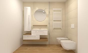BOX SALON Klasický Koupelna Tjaša Furlan