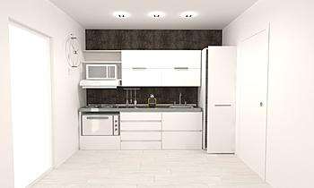 Cocina 5 viviendas Classic Kitchen Comercial Cortazar Diseños personalizados