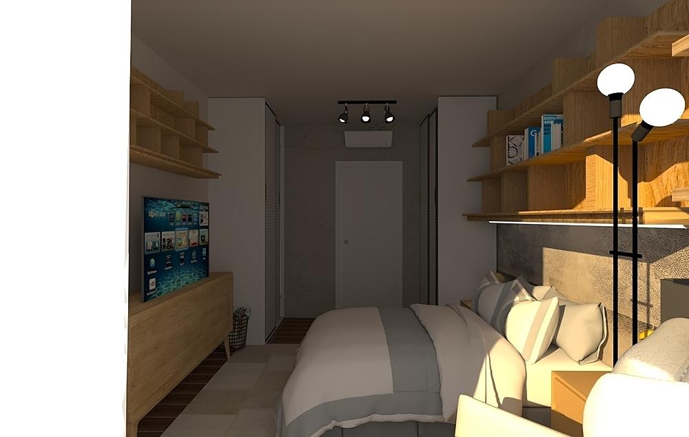 Bedroom Stan Współczesne Sypialnia Iliana Ovtcharova