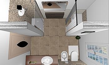 bagno 1 Classic Bathroom francesco faccani