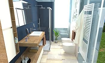 Cesarini bagno principale... Classic Bathroom Big Mat Fabio Sbaffi