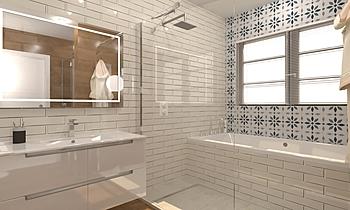 Bany Dutxa Junt 2 Classic Bathroom BdB GARMON MORELLA S.L.