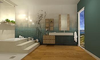 attico 3 Classic Bathroom Federica Lorini