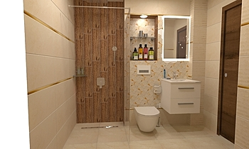 onix cream Classique Salle de bain Mladen Popov