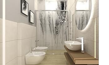 bagno app piccolo Moderne Salle de bain FABBRI IDROTECNOTERMICA srl FABBRI