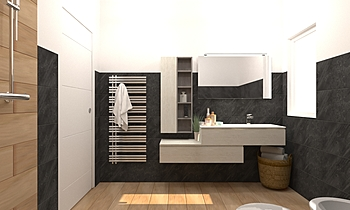 BATHROOM Classic Bathroom Elena & Marco EDILNOVACLES
