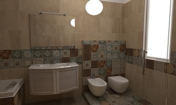 Fineo Andrea Contemporary Bathroom Nuova Edilizia Gigante srl