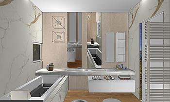 selva giada Classic Bathroom Elisa Filippini