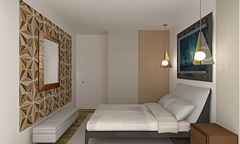 Wistto Bedroom 2 Současný Ložnice Iliana Ovtcharova