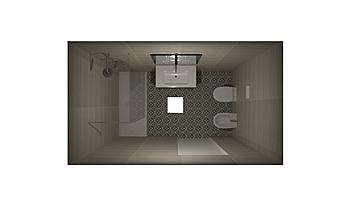 Occhinero Alessandra Contemporary Bathroom Nuova Edilizia Gigante srl