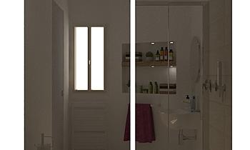 BAGNO HARRY Moderne Badezimmer Guglielmo Puglisi