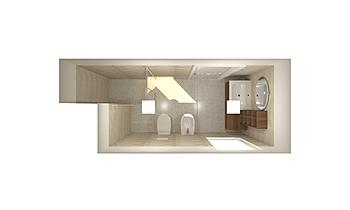 Occhinegro Alessandra Contemporary Bathroom Nuova Edilizia Gigante srl