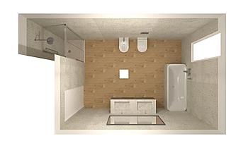 COSTRUZIONI IERVOLINO SUD... Classic Bathroom Silvia Mariani