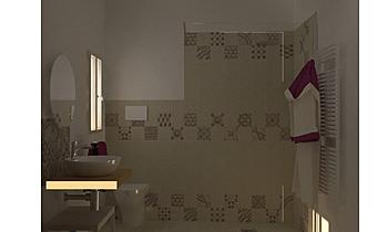 bBAGNO 2 MARAZZI BLOCK BE... Méditerranéen Salle de bain Guglielmo Puglisi