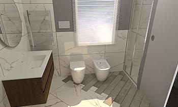 Santillo Francesco e Agat... Classic Bathroom Antonino Stracuzzi