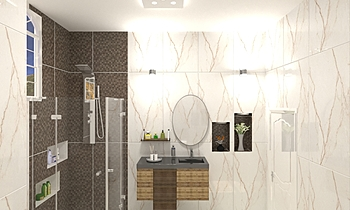عبدالله Classic Bathroom Ahmed homestyle