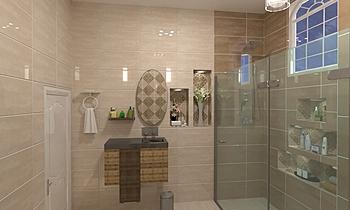عبد العزيز Classic Bathroom Ahmed homestyle